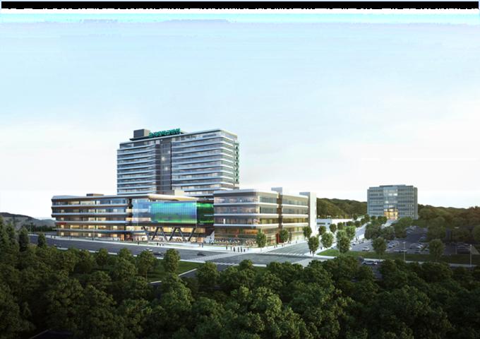 을지대학교 의정부캠퍼스 및 부속병원 조감도