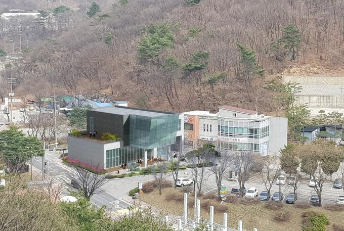 민복진 미술관 조감도